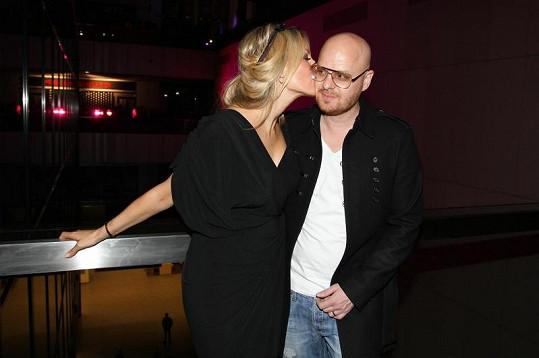 Simona s manželem Karlem.