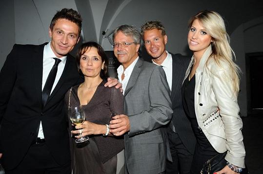Veronika Freimannová s rodinkou.