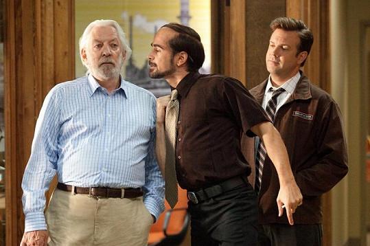 Donald Sutherland a Colin Farrell.