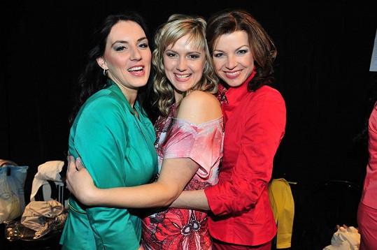 Elen, Monika a Lucie.