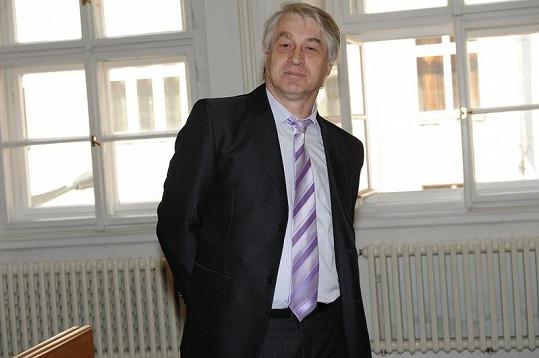 Josef Rychtář několikrát slovně napadl našeho reportéra.