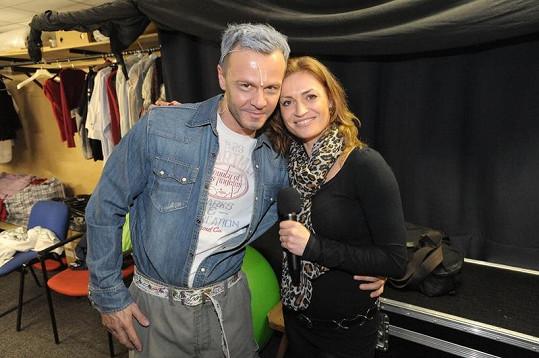 Kynychová děkuje za podporu Braňovi Polákovi.