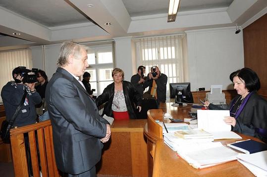 Josef Rychtář nepochodil, soudkyně mu nenaslouchala.