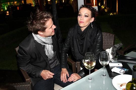 Agáta Hanychová s přítelem Mirkem Dopitou už zase vrkají.