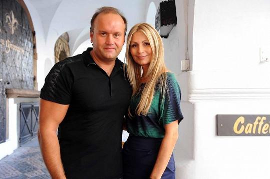 Marek Vít se svou aktuální přítelkyní Kateřinou, se kterou slavil po rozvodu.