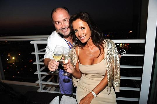 Kateřina Brožová s Michalem Davidem.