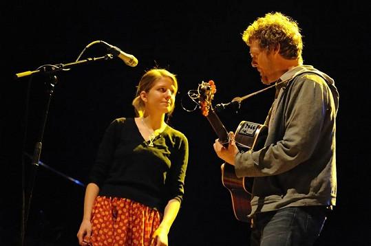 Oscarový muzikantský pár Markéta Irglová a Glen Hansard.