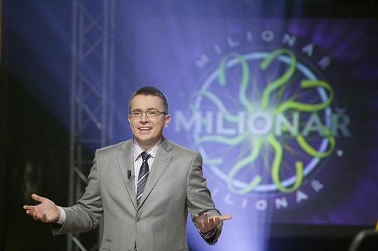 Roman Šmucler uváděl i Milionáře.