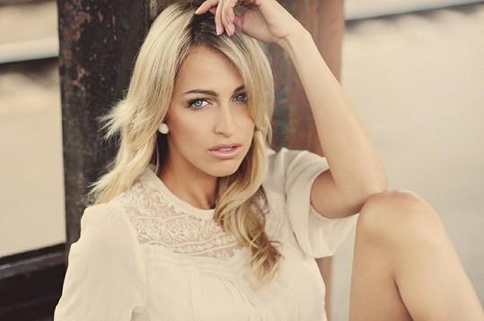 Renata Langmannová pracuje jako modelka převážně v zahraničí.