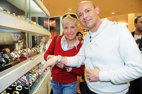 Marcela Březinová s Davidem Novotným.