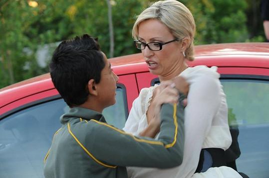 Kateřina Brožová byla brutálně napadena Romy.