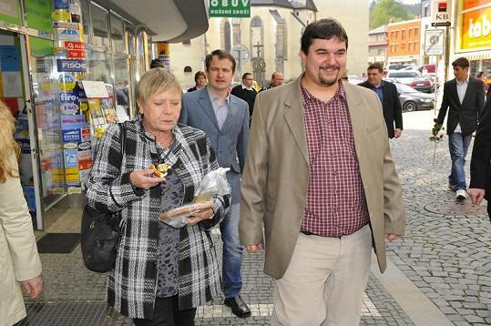Jaroslava Obermaierová a Tomáš Magnusek.