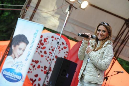 Zpívala i Yvetta Blanarovičová.