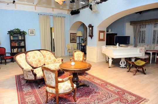 Nakoukněte do seriálového bytu Libuše Šafránkové.