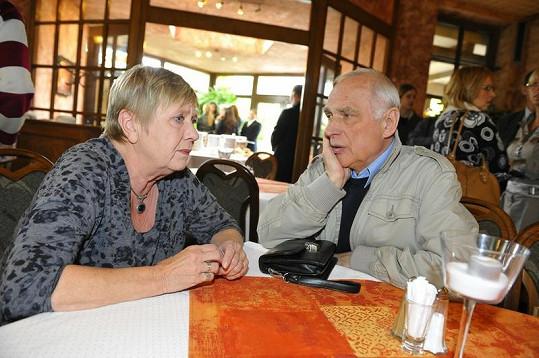 Obermaierová si dobře rozuměla s kolegou Ladislavem Županičem.