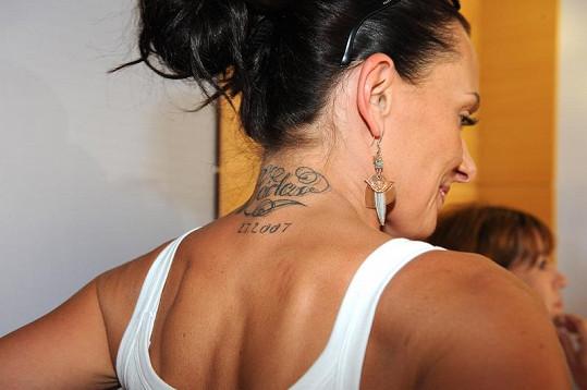 Bendová ukázala i své tetování