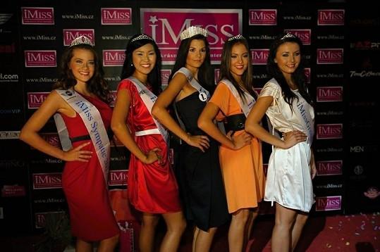 Vítězky iMiss 2012.