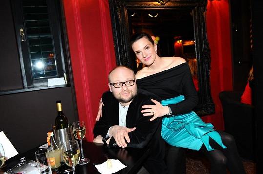 Michaela Maurerová s manželem.