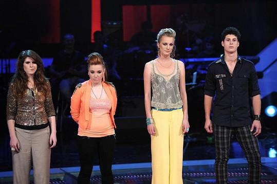 Tým Dary Rolins ještě v počtu čtyř zpěváků.