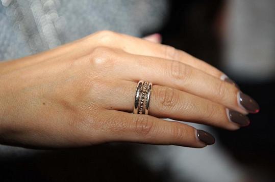Detail Evina prstenu.