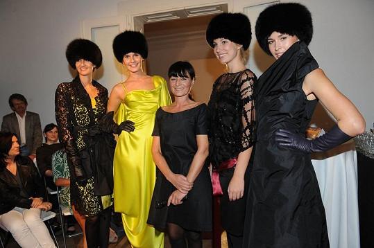 Liběna Rochová je oblíbenou návrhářkou Lucie Bílé.