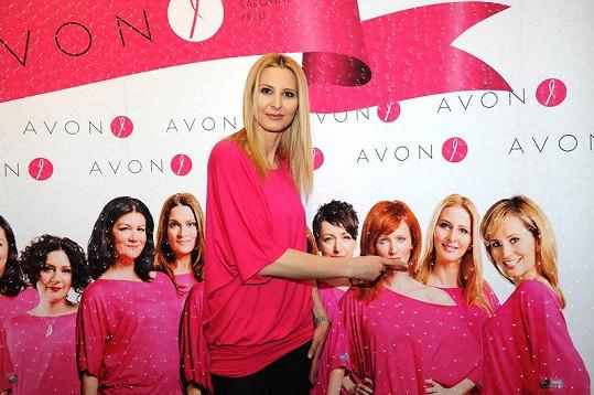 Ivana je hrdá, že je součástí týmu slavných žen podporujících bohulibý projekt.