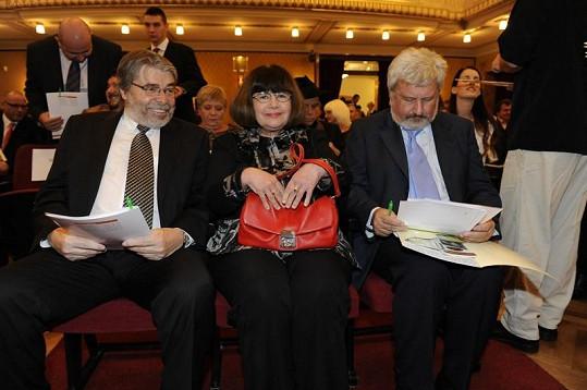 V porotě Sestřičky roku zasedli i Radim Uzel, Uršula Kluková a Jan Cimický.