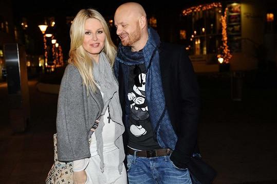 Simona Krainová s manželem Karlem.