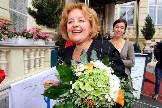 Magda Vášáryová je stále okouzlující.