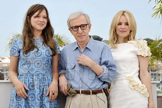 Woody Allen miluje ženy.