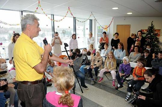 Pro děti vystoupil Michal Nesvadba.