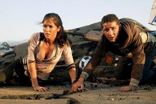 Shia LaBeouf a Megan Fox.