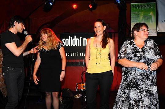 Vítězky soutěže v klubu Solidní nejistota.