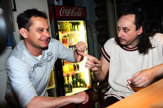 Vtipálek Vojtko rozesál i režiséra Kleopatry Filipa Renče.