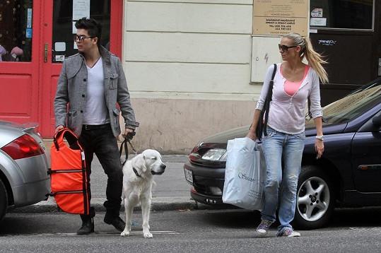 Martina Gavriely s Marcusem Tranem jsou idylický pár.