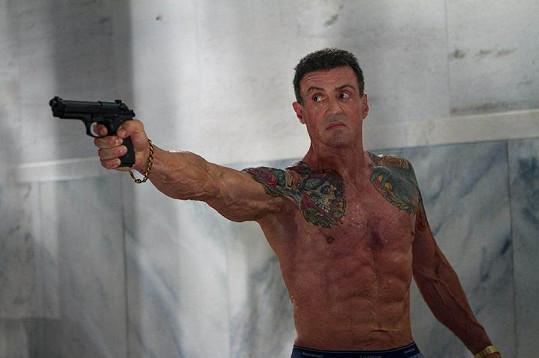 Sylvester Stallone ve filmu Bullet To The Head.