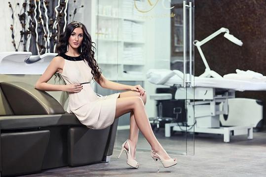 Makarenko nafotila nové luxusní fotky.