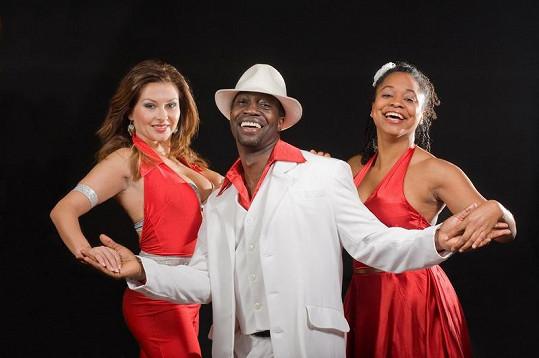 Dana s dvojící Ruben Dance.