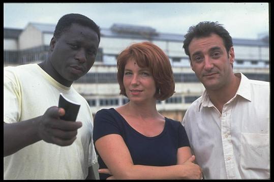 Mouss Diouf jako inspektor N'Guma (vlevo) s komisařkou Lescaut (Véronique Genest).
