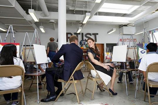 Manželé se radili, co namalují.