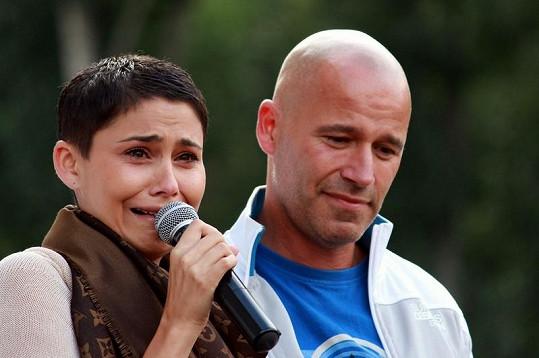 Vlaďka Erbová se v pátek kvůli dceři a Bahenskému rozplakala.