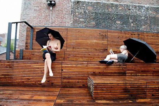 Ani déšť není překážkou.