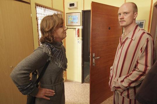Sandra Pogodová bude v nových dílech Vyprávěj Janu Budařovi dělat jednu hysterickou scénu za druhou.