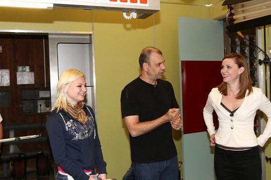 Ivanna Bagová byla nadšená ze setkání s Petrem Rychlým.