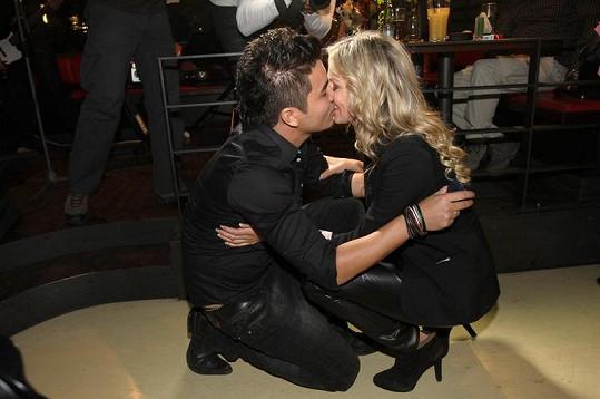Marcus Tran a Martina Gavriely krátce po zasnoubení.