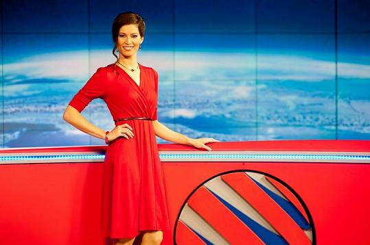 Jana Marečková se proslavila na Nově, teď pracuje v České televizi.