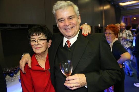 Petr Štěpánek s manželkou spolu byli skoro čtyřicet let.