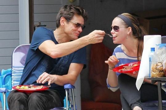 Jim Carrey má se svou dcerou Jane krásný vztah.