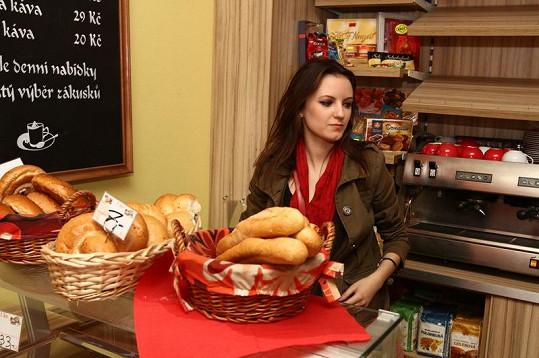 Sličná pekařka Anna.