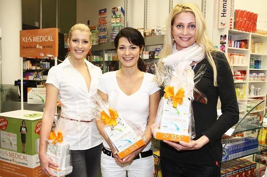 Specialistka na výživu poskytovala poradenství plavkyni Yvettě Hlaváčové a České Miss Jitce Nováčkové.